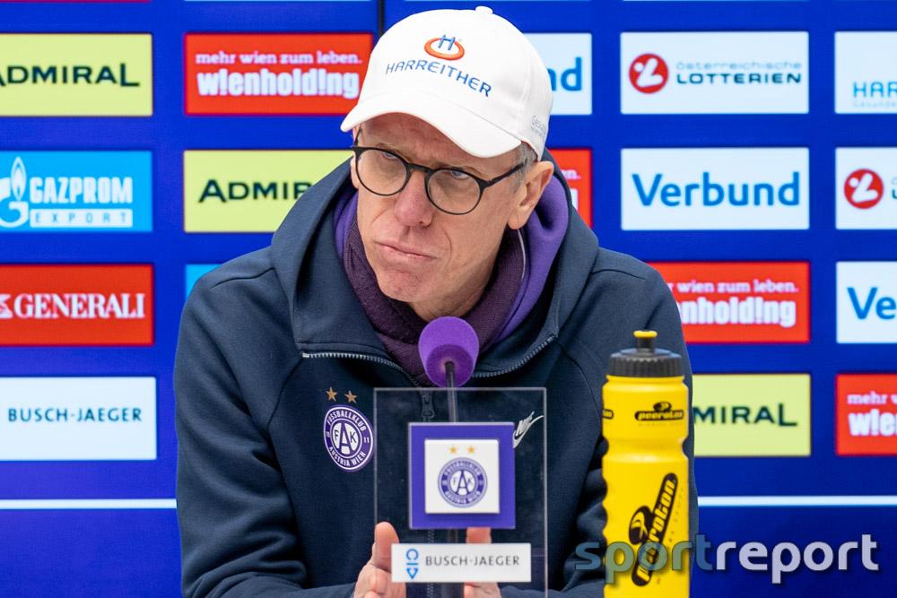"""Peter Stöger (Trainer Austria): """"Ich habe bewusst gesagt, ich starte diese Challenge vor zwei Jahren und habe sie bewusst durchgezogen - das ist mein Heimatverein, mein Bezirk, mein Klub"""""""