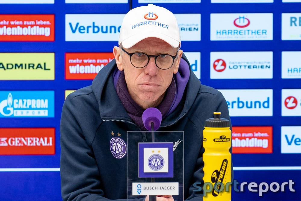 Austria Wien-Trainer Peter Stöger: