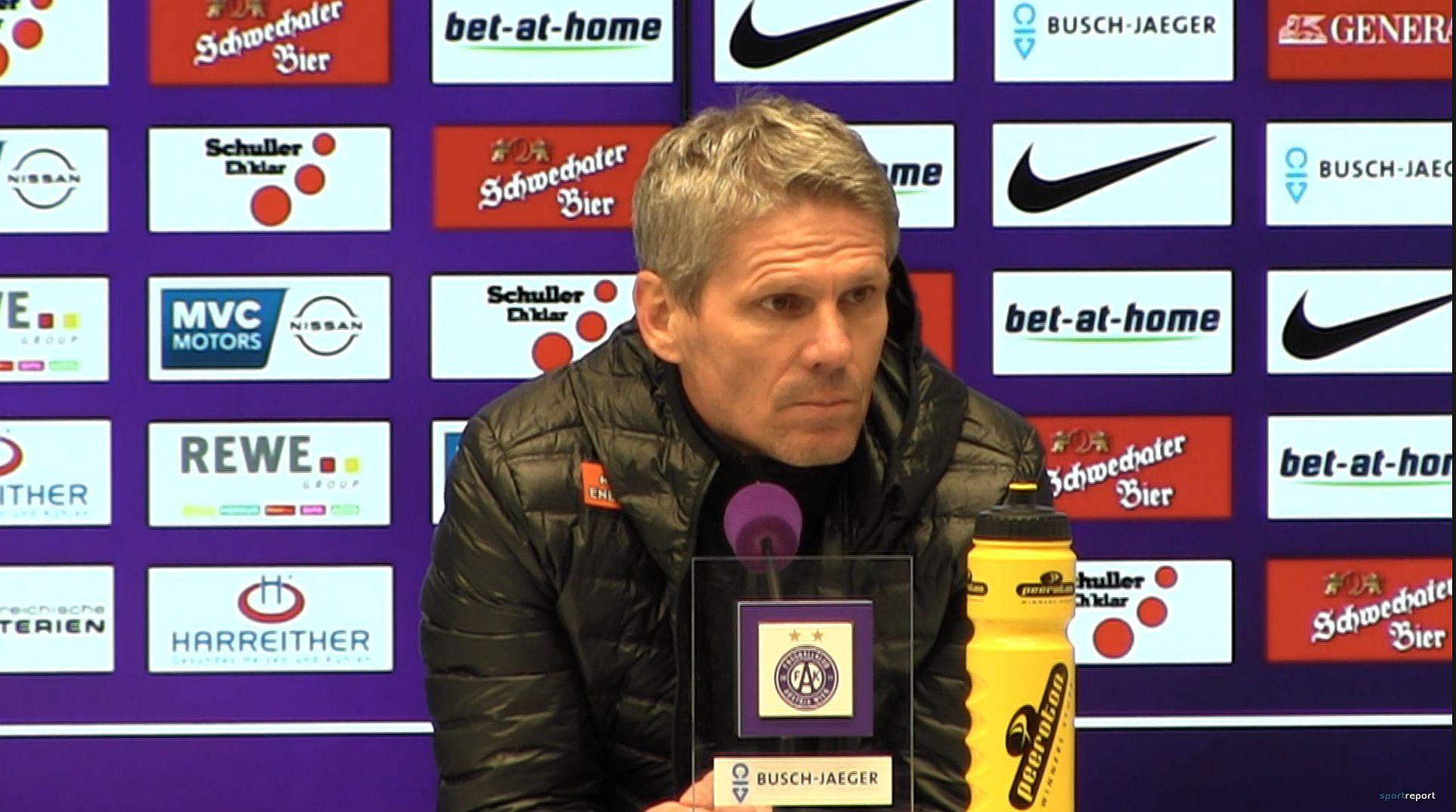 Video: Didi Kühbauer (Trainer SK Rapid Wien) - die Pressekonferenz nach dem Spiel gegen FK Austria Wien