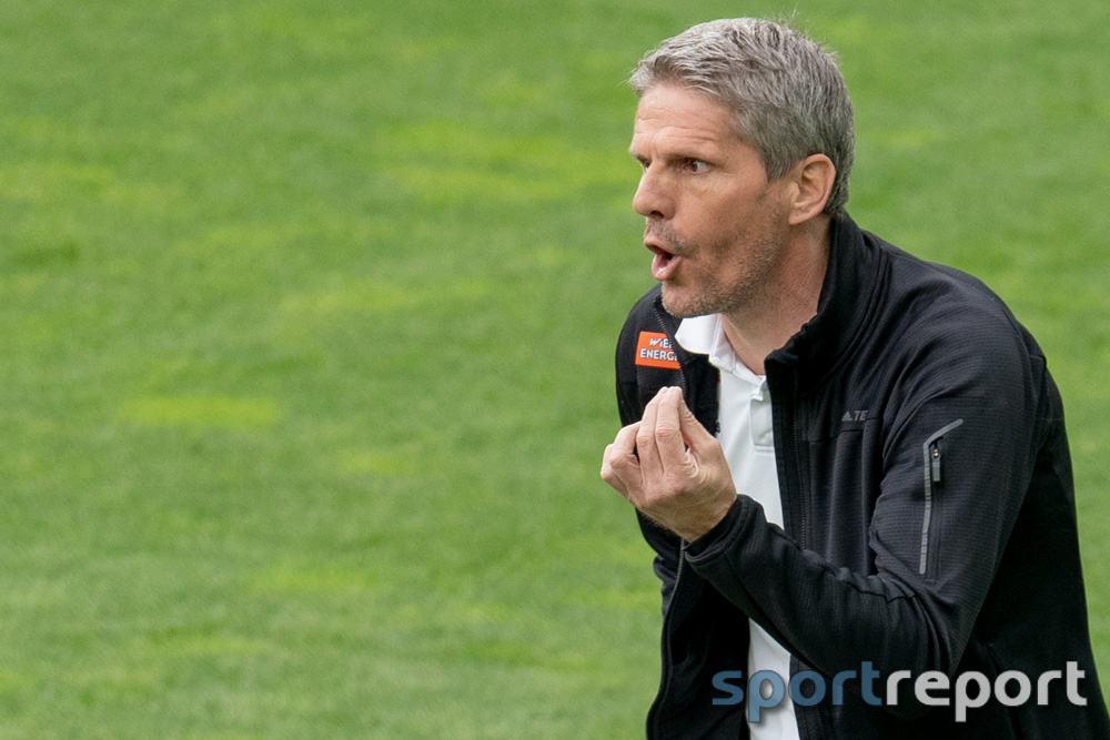 """Dietmar Kühbauer (Trainer SK Rapid): """"Mir wäre es fast lieber gewesen, wenn elf Spieler gespielt hätten"""""""