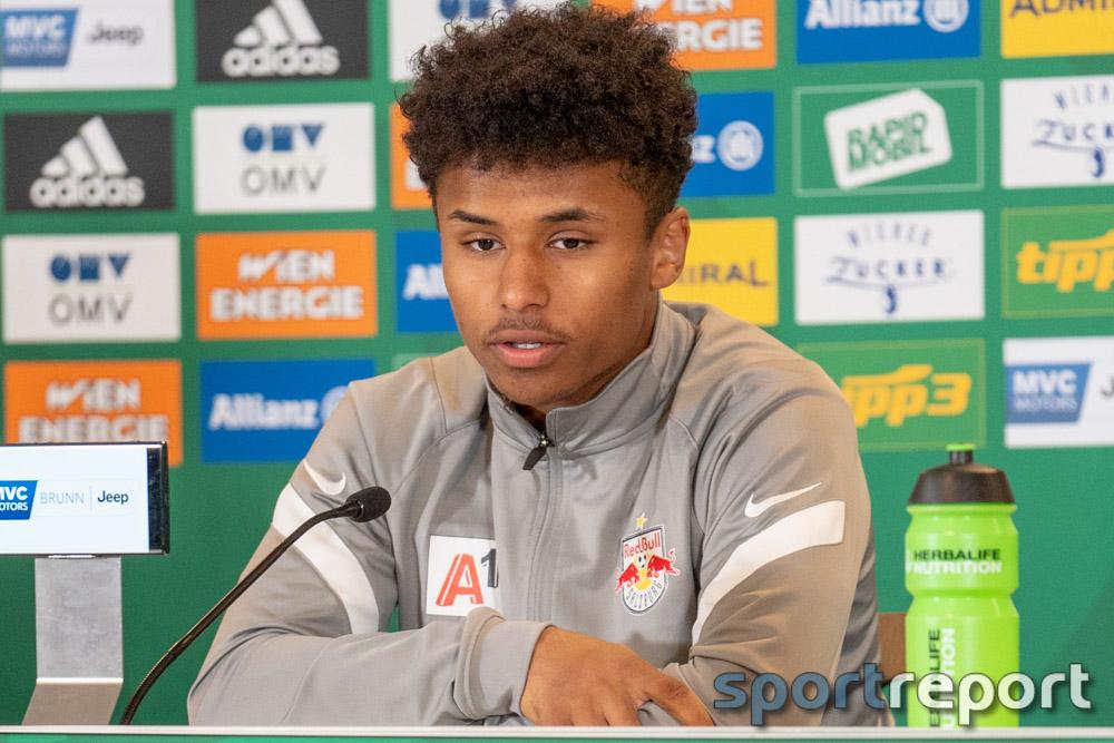 """Karim Adeyemi (FC Red Bull Salzburg): """"Weiß selbst nicht, woher ich die Coolness nehme."""""""