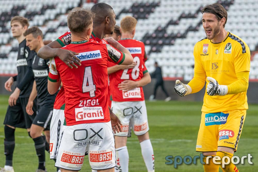 Erster Sieg in der Südstadt seit 2013 – SV Ried gelingt bei der Admira Befreiungsschlag im Abstiegskampf