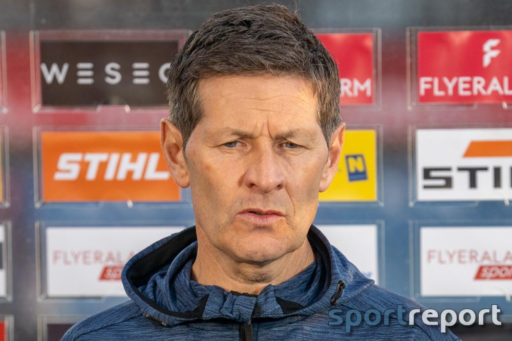 """Andreas Heraf (Trainer SV Ried): """"Ich bin Realist und für mich bleibt diese Saison ein Kampf gegen den Abstieg"""""""