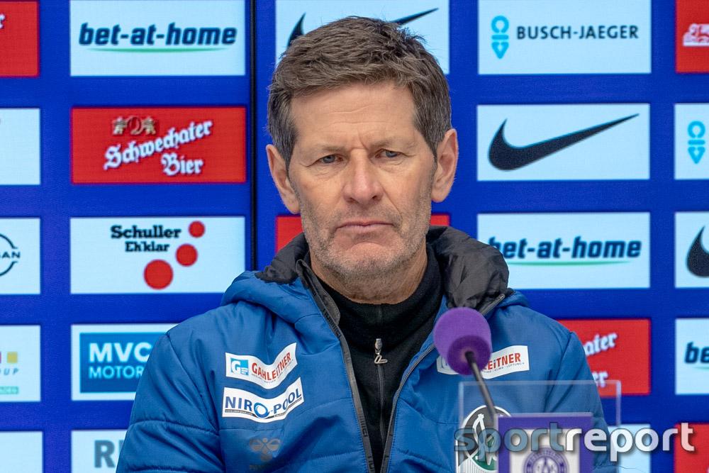 """Andreas Heraf (Trainer SV Ried): """"Riesenkompliment an meine Spieler, vom ersten Tag an haben sie alles umgesetzt"""""""