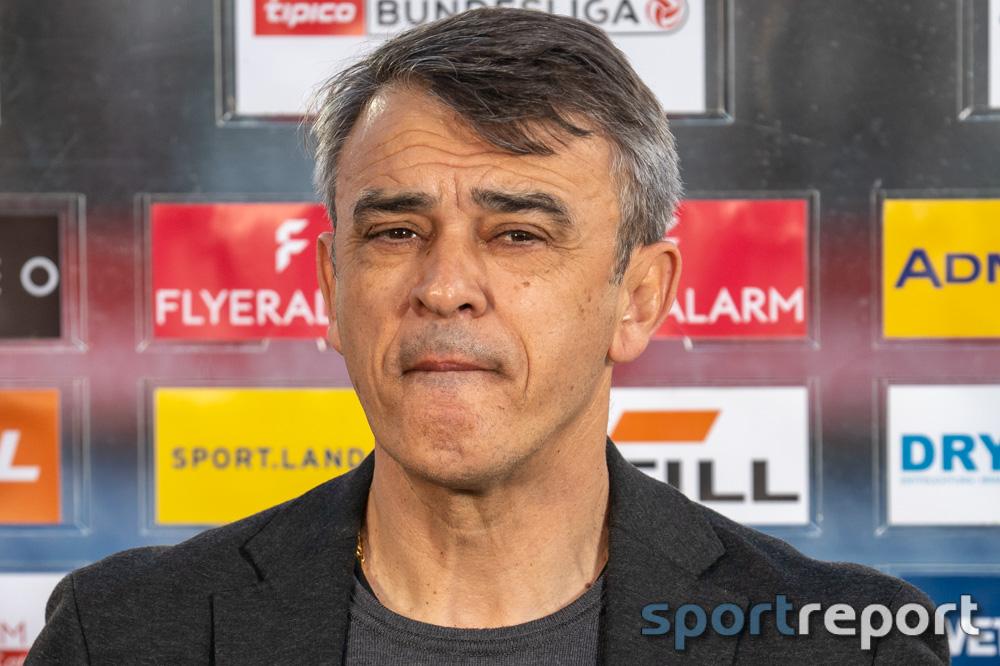 """Damir Buric (Trainer Admira) enttäuscht: """"Heute haben wir ein Gesicht gezeigt, das mir nicht gefällt"""""""