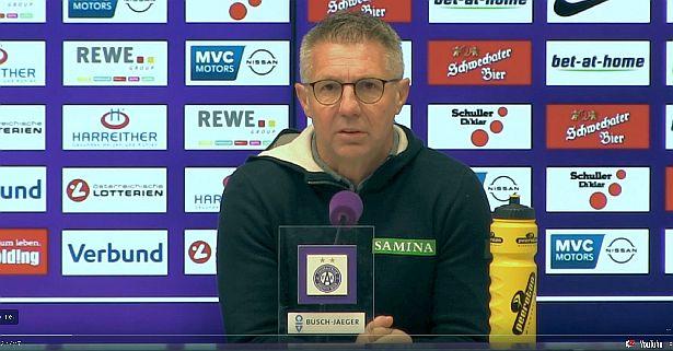 Video: Damir Canadi (Trainer SCR Altach) - die Pressekonferenz nach dem Spiel gegen FK Austria Wien