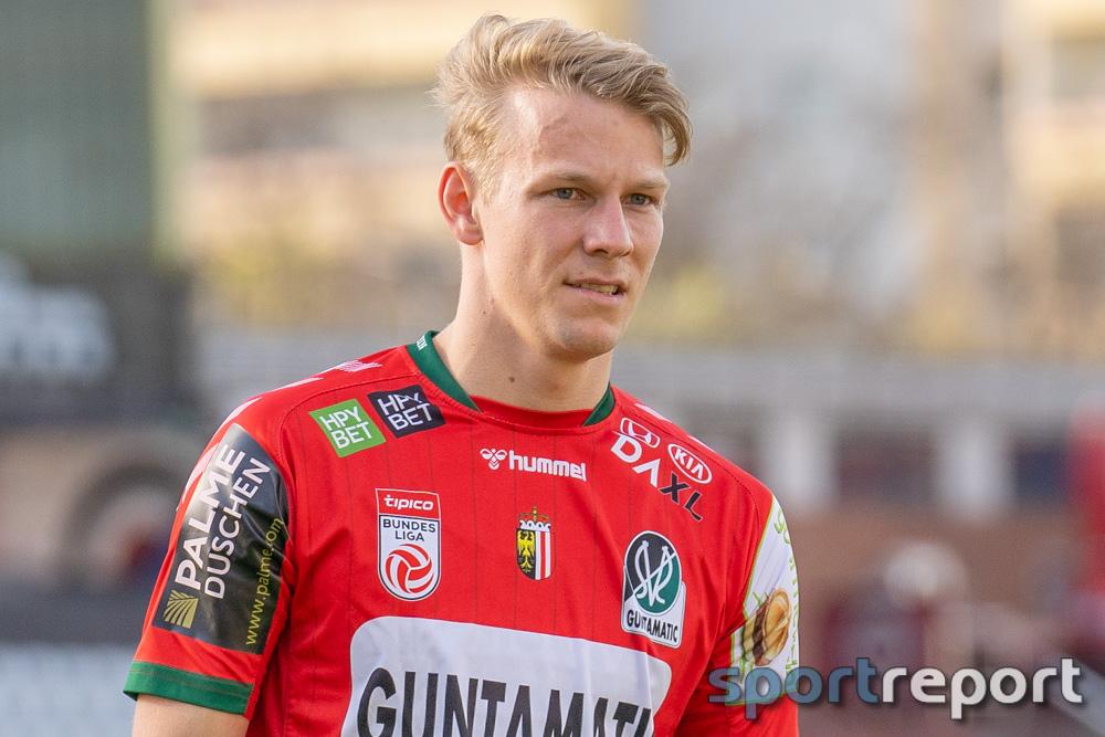 """Marco Grüll (SV Ried) zum Spiel: """"Wir können sicher besser mit dem Unentschieden leben, als St. Pölten"""""""