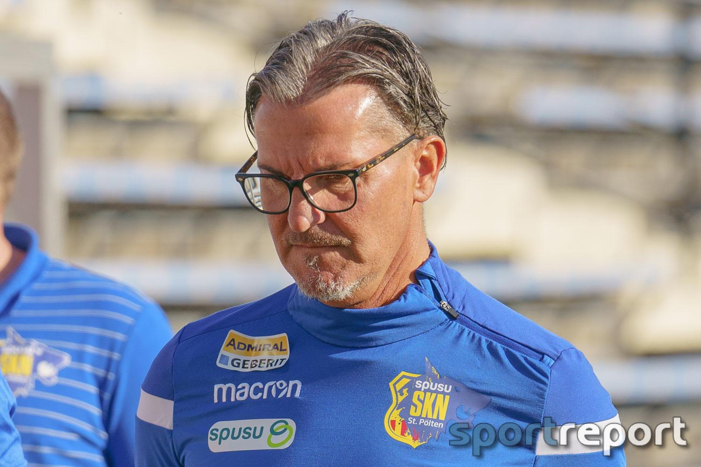 """Gerald Baumgartner (Trainer SKN St Pölten): """"Wenn es die Relegation gibt, dann müssen wir bereit sein und das werden wir auch sein"""""""