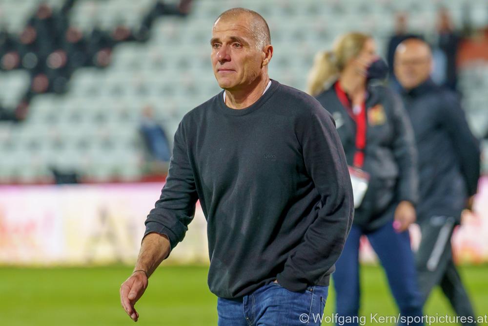 """Klaus Schmidt (Trainer Admira): """"Das war einer der schönsten Momente, die ich als Fußballtrainer erlebt habe"""""""