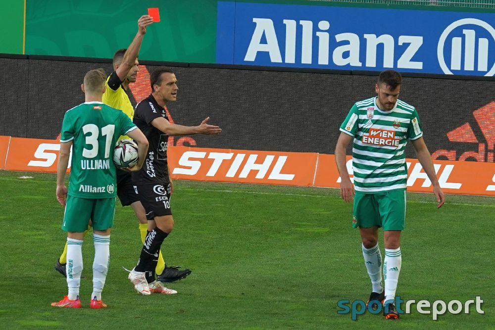 Strafsenat sperrt Mateo Barac (SK Rapid) für 3 Spiele (1 Spiel bedingt)