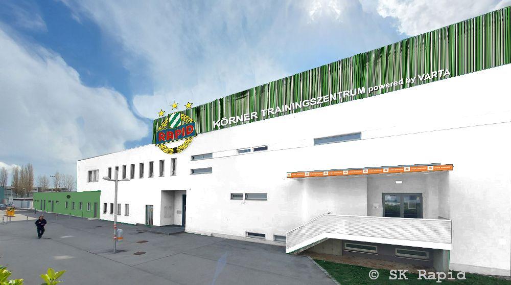 Der SK Rapid präsentiert das Körner Trainingszentrum powered by VARTA