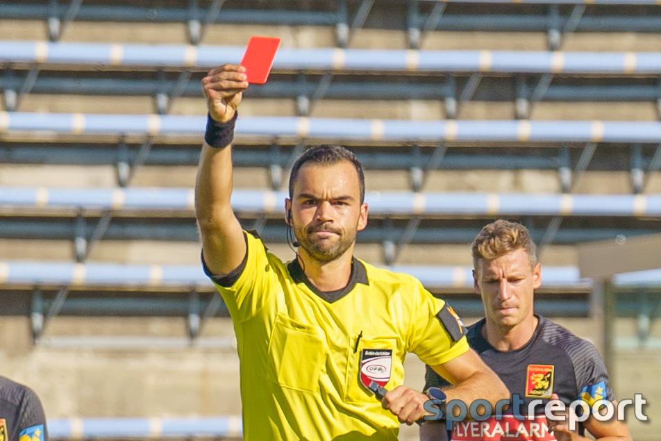 Strafsenat sperrt Philipp Menzel (Austria Klagenfurt), Flavio Dos Santos Dias (FAC) und Thomas Mayer (SKU Amstetten)