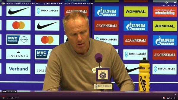 Video: Thomas Silberberger (Trainer WSG Tirol) - die Pressekonferenz nach dem Spiel gegen FK Austria Wien