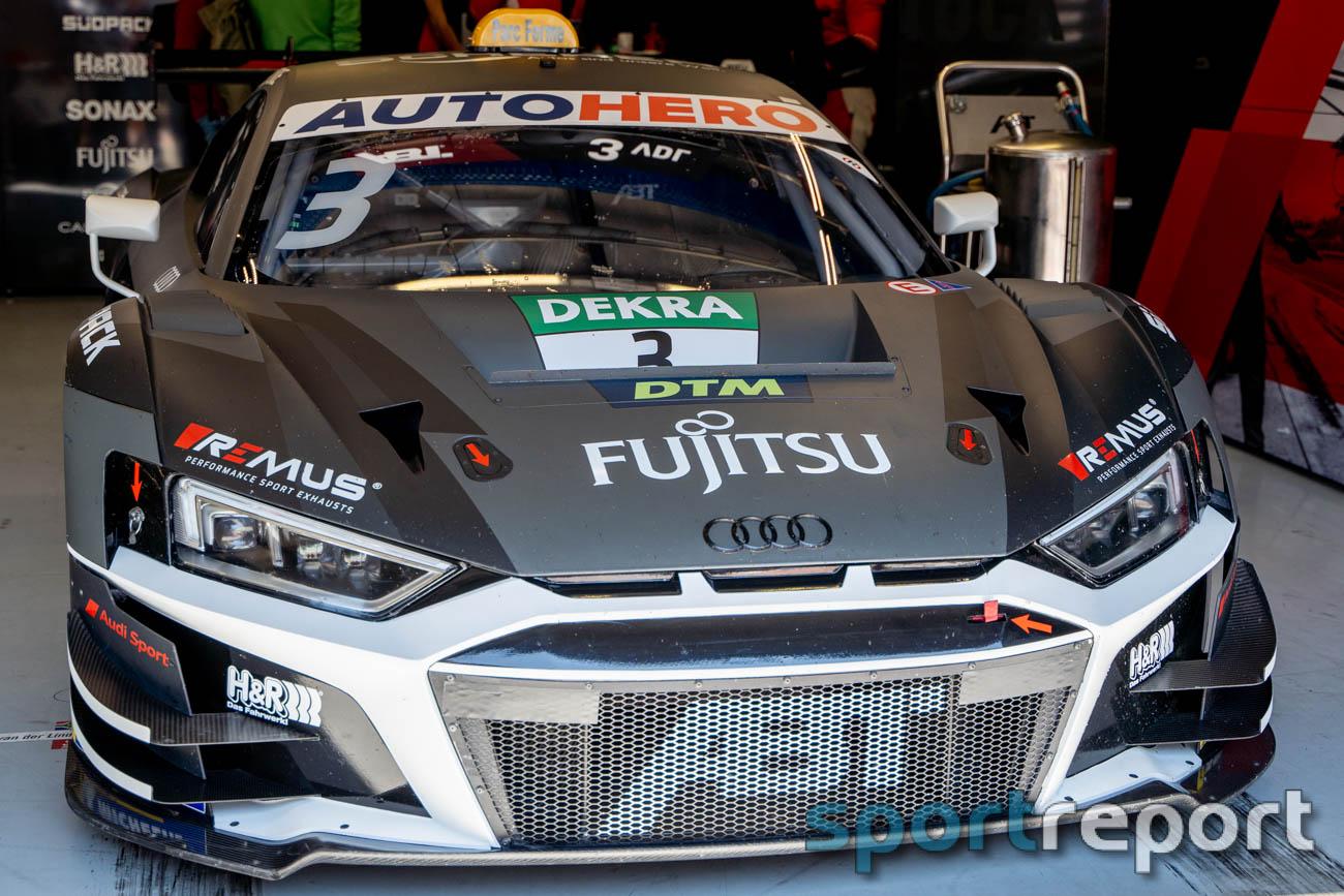 Kelvin van der Linde im Audi R8 LMS des Team ABT Sportsline wird DTM-Dritter